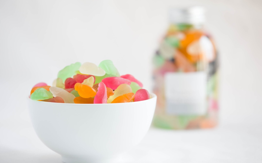TANGY BEAR CANDY BOTTLE 370G