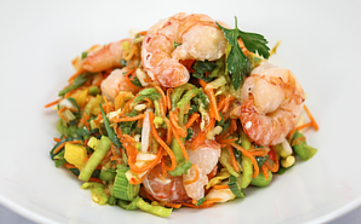 [9554 - 23 / FTK] THAISE SALADE MET SCAMPI'S 400G
