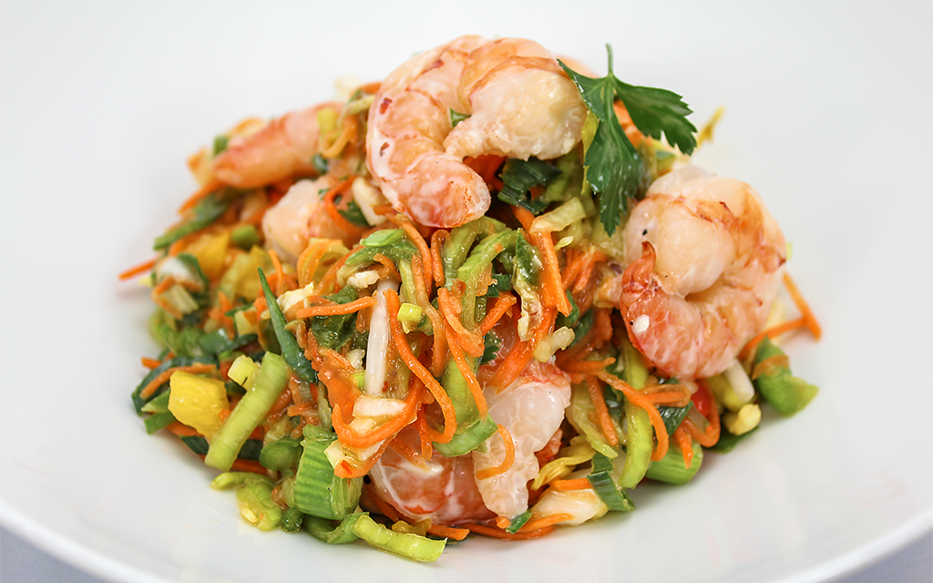 [9554 - 18 / FTK] THAISE SALADE MET SCAMPI'S 150G