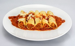 [8693 - 92 / FTK ] CANNELLONI HACHE VOLAILLE ET COULIS TOMATE 450G